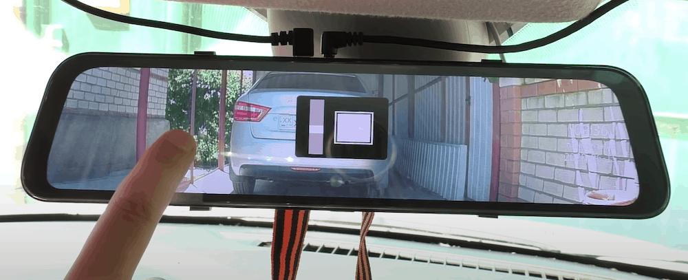 зеркало видеорегистратор с камерой задннего вида