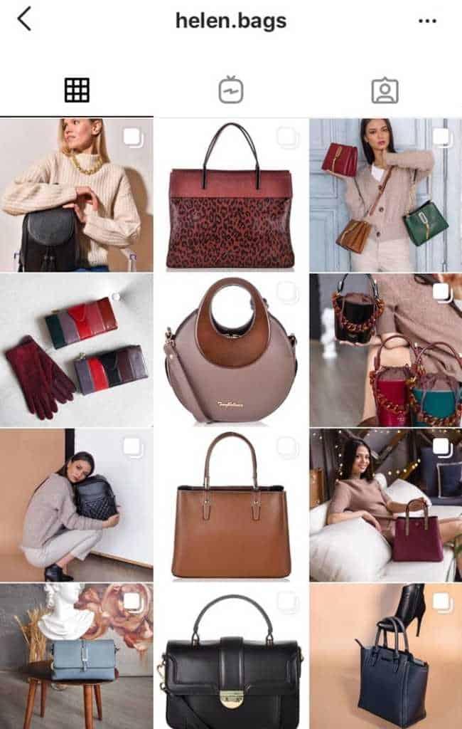 сумки торговля в инстаграме