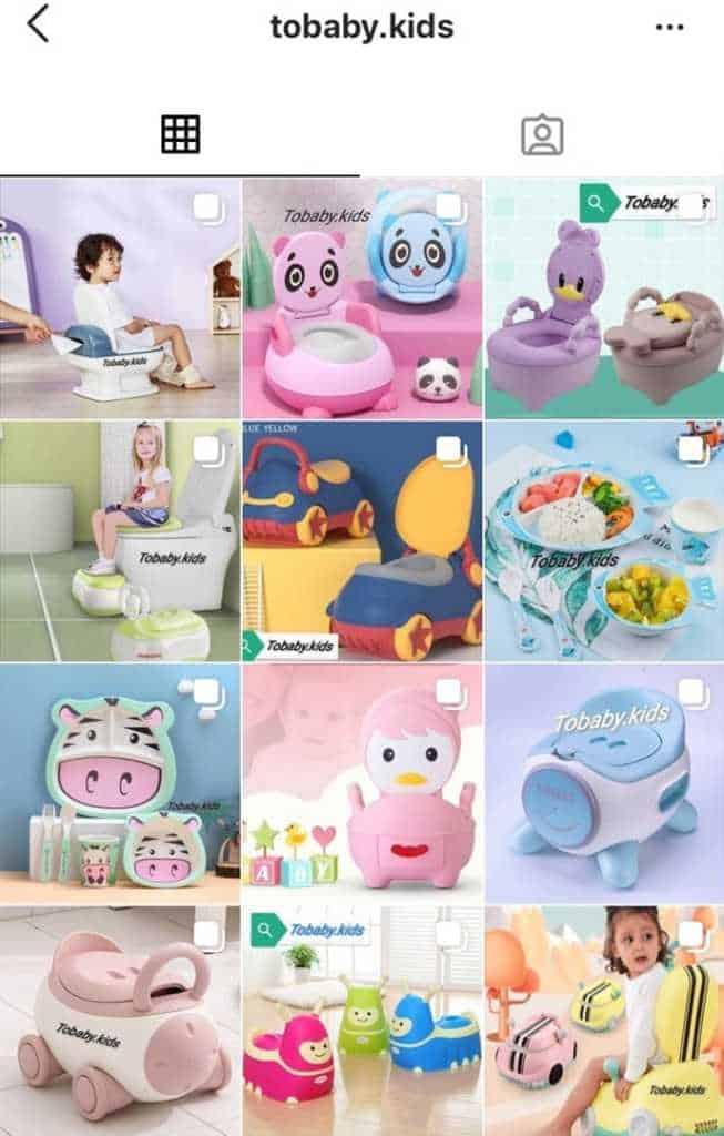 товары для детей в инстаграм