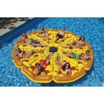 Матрас надувной плавательный пицца