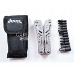 Мультитул Jeep + набор бит