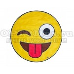 Пляжное полотенце Emoji