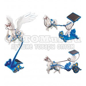 3-in-1 Educational DIY Solar Stallion Toy Assembly Kit оптом