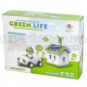 Конструктор на солнечной батарее «АВТОМОБИЛИСТ» Green Life Solar Kit Car оптом