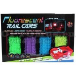 Гибкий трек Fluorescent Rail Cars