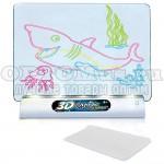 Магическая 3D доска для рисования Magic Drawing Board 3D