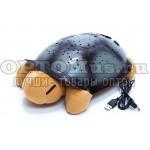 Проектор звездного неба Черепаха, детский ночник с мелодиями в виде мягкой игрушки