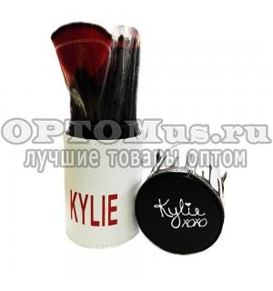 Набор кистей Kylie XoXo в футляре 12 шт. оптом.