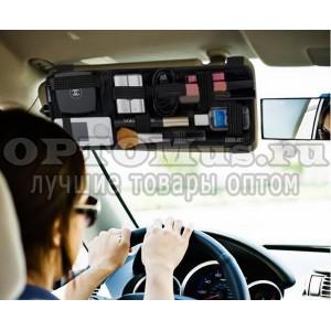 Автомобильный козырек-органайзер Organizer Vehicle Storage Plate оптом