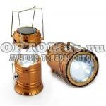 Фонарь-лампа для кемпинга на солнечной батарее Camping Lights