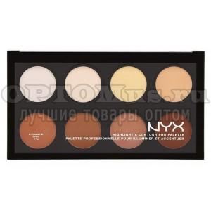 Контурирующая палетка Nyx Highlight & Contour Pro Palette оптом