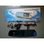 Зеркало-видеорегистратор Vehicle Blackbox DVR с камерой заднего вида New
