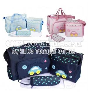 Комплект сумок для мамы Cute as a Button оптом.