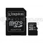 Карта памяти Kingston MicroSDHC/MicroSDXC Class 10 HS-I 32GB