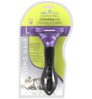 Фурминатор Long Hair Large для вычесывая кошек оптом.