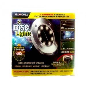Фонарь на солнечной батарее Disk Lights оптом,