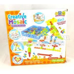 Мозаика «Creative mosaic» 234 детали оптом