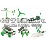 Конструктор на солнечных батареях Robot Kits 6 в 1