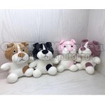 Мягкая игрушка плюшевая собачка 20 см