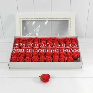 Мыльные розы упаковка 50 шт оптом