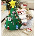 Войлочная рождественская елка 3D DIY