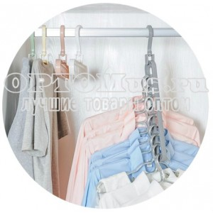 Пластиковая вешалка для одежды оптом