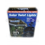 Лампы светодиодные новогодние Solar Twist Lights 200 ламп