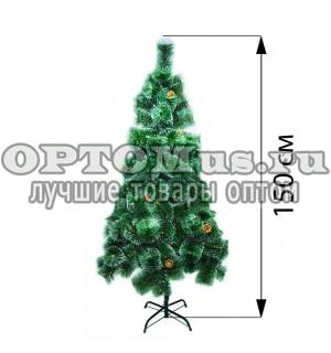 Новогодняя елка 150 см (фабричная) оптом
