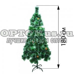 Новогодняя елка 180 см (фабричная) оптом