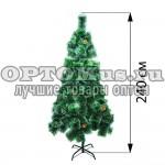 Новогодняя елка 240 см (фабричная)