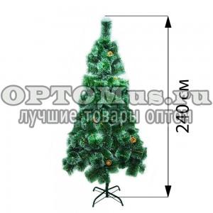 Новогодняя елка 240 см (фабричная) оптом