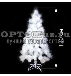 Новогодняя елка белоснежная (120 см) оптом