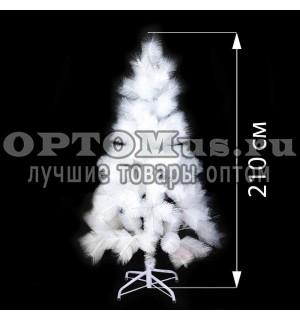 Новогодняя елка белоснежная (210 см) оптом