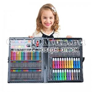 Детский набор для творчества Kids Art Set из 168 предметов оптом в Междуреченске