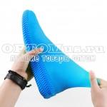 Многоразовые бахилы от дождя Waterproof silicone shoe