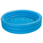 Надувной бассейн синий 147х33 см