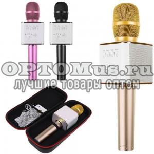 Караоке микрофон со встроенной колонкой Q9 оптом