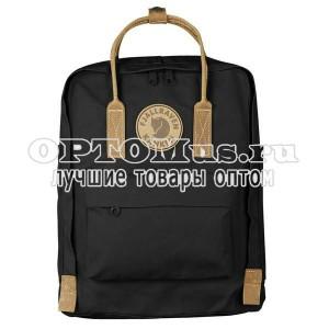 Рюкзак Fjallraven Kanken с кожаными ручками премиум