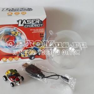 Светящаяся мини машинка Laser Chariot оптом