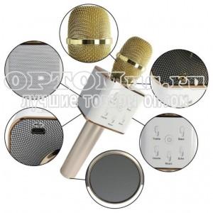 Караоке микрофон со встроенной колонкой Micgeek Q7