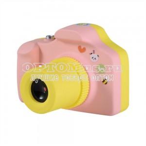 Детский фотоаппарат Kids Camera Summer Vacation оптом в Рязани