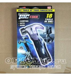 Многофункциональный молоток - гвоздодер Bellhowell Tac Tool 18 в 1 оптом