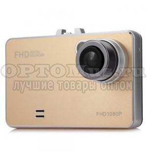 Автомобильный видеорегистратор Car Camcorder Full HD 1080 гладкий оптом