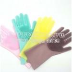 Универсальные силиконовые перчатки Magic Brush