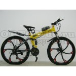 Велосипед LandRover (GreenBike) литые диски складной