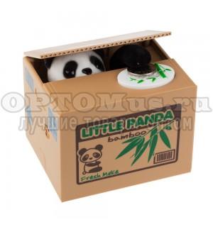 Детская копилка Little Panda для монет оптом