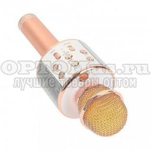 Караоке микрофон  (колонка) Wster WS-858 оптом
