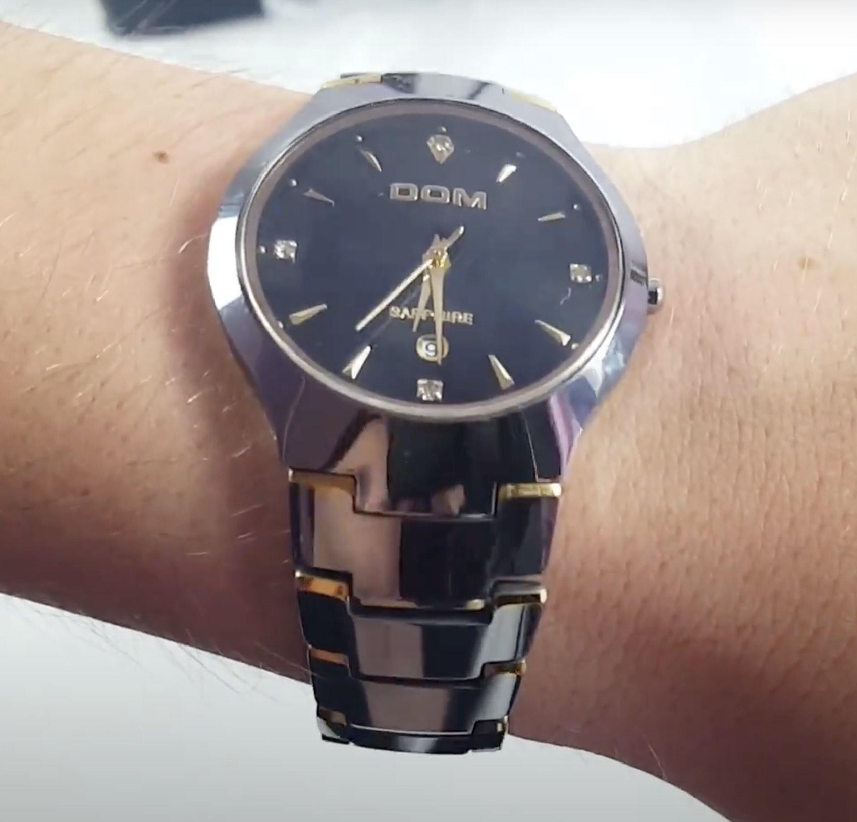 наручные часы Dom