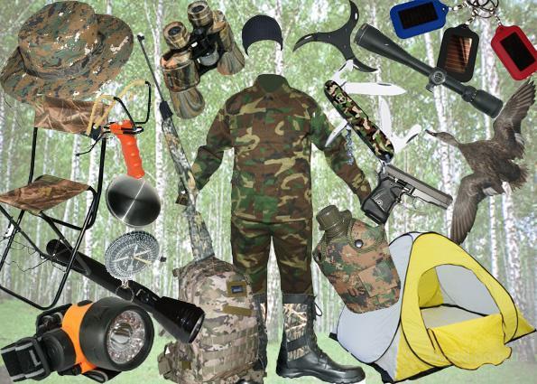 трендовые товары для охоты и рыбалки для одностраничников